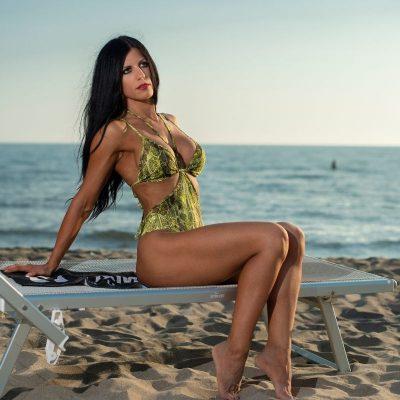 Book fotografico in spiaggia - Dott.ssa Valeria Galfano